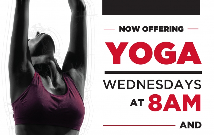 New Yoga Class Added!