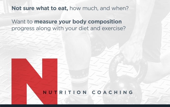 Nutrition Coaching Now Available!