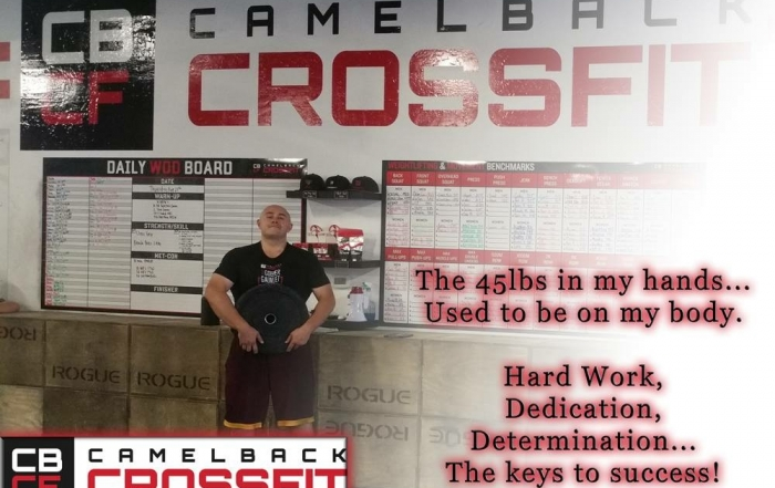 Camelback CrossFit Member of the Month | August