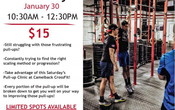 Pull-Up Clinic | Saturday Jan. 30th