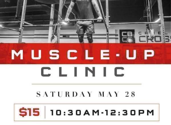 Muscle-up Clinic | May 28th | 10:30AM
