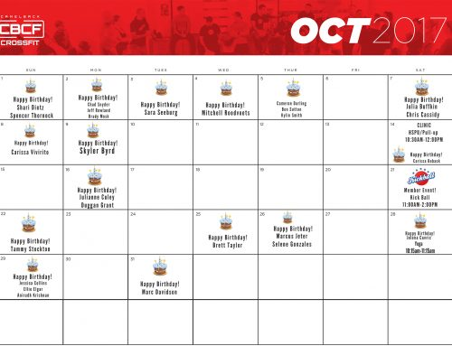 October 2017 | Calendar