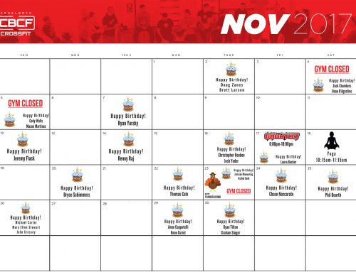 November 2017 | Calendar