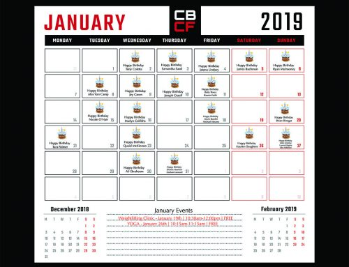 January '19 | Calendar