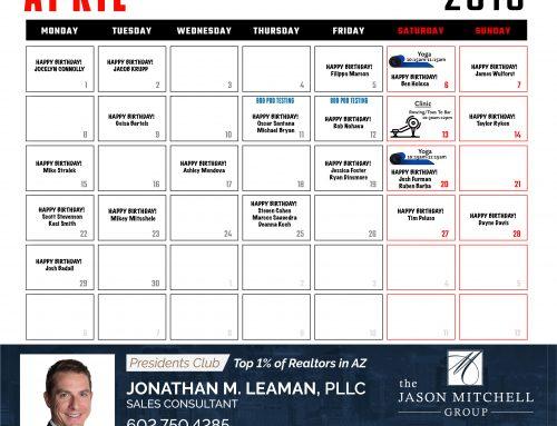 Calendar | April '19